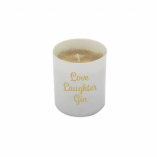 Desire Love Laugh Gin Candle LP42788